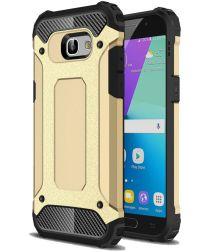 Samsung Galaxy A5 (2017) Hybride Beschermhoesje Goud