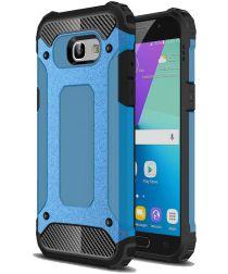 Samsung Galaxy A5 (2017) Hybride Beschermhoesje Blauw