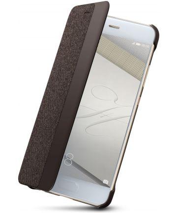 Origineel Huawei P10 Hoesje View Cover Bruin