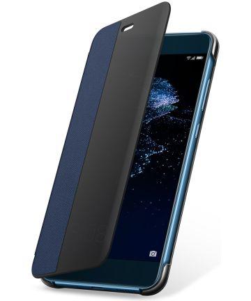Origineel Huawei P10 Lite Hoesje View Cover Blauw