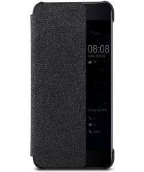 Origineel Huawei P10 Plus Hoesje View Cover Donker Grijs