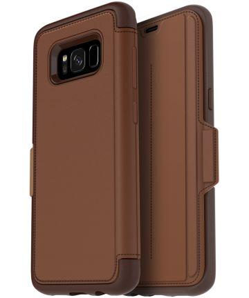 Otterbox Strada Samsung Galaxy S8 Saddle Brown