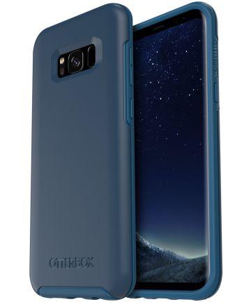 OtterBox Symmetry Case Samsung Galaxy S8 Plus Bespoke Blue Hoesjes