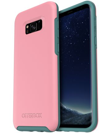 OtterBox Symmetry Case Samsung Galaxy S8 Plus Prickly Pink Hoesjes