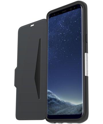 Otterbox Strada Samsung Galaxy S8 Plus Onyx Black Hoesjes
