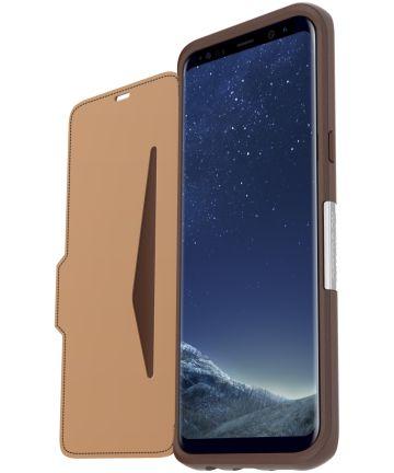 Otterbox Strada Samsung Galaxy S8 Plus Saddle Brown