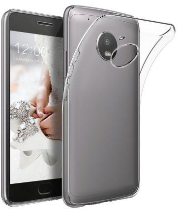 Motorola Moto G5 Plus Transparant Hoesje Hoesjes