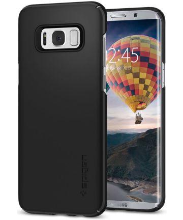 Spigen Thin Fit Case Samsung Galaxy S8 Zwart