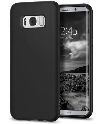 Spigen Liquid Crystal Samsung Galaxy S8 - Mat Zwart
