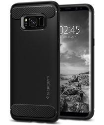 Spigen Rugged Armor Samsung Galaxy S8 Zwart