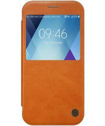 Nillkin Qin Book Case Samsung Galaxy A5 (2017) Bruin