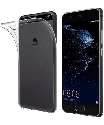 Huawei P10 Lite Hoesje Dun TPU Transparant Hoesjes