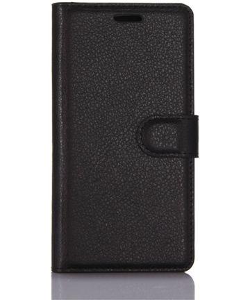 Samsung Galaxy S8 Hoesje met kaarthouder Zwart