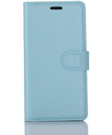 Samsung Galaxy S8 hoesje met kaarthouder Blauw Hoesjes