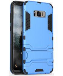 Hybride Samsung Galaxy S8 Hoesje Blauw