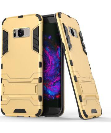 Hybride Samsung Galaxy S8 Plus Hoesje Goud