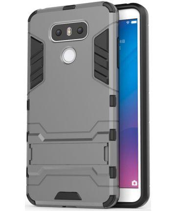 Hybride LG G6 Hoesje Grijs