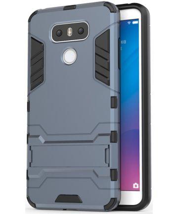 Hybride LG G6 Hoesje Blauw