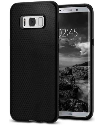 Spigen Liquid Air Samsung Galaxy S8 Case Black