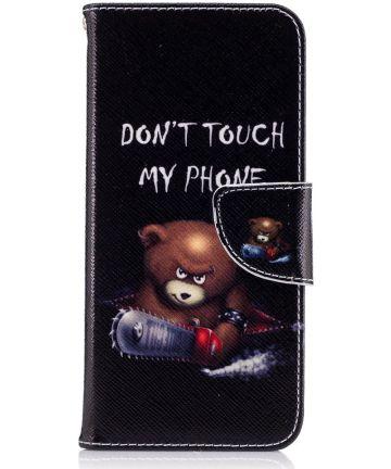 Samsung Galaxy S8 Portemonnee Print Hoesje Teddy Hoesjes