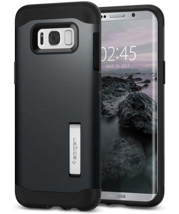 Spigen Slim Armor Samsung Galaxy S8 Metal Slate