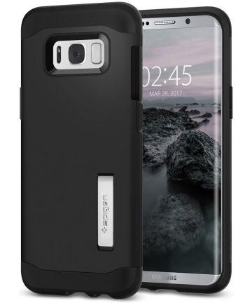 Spigen Slim Armor Samsung Galaxy S8 Black Hoesjes