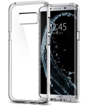 Spigen Ultra Hybrid Hoesje Samsung Galaxy S8 Plus Transparant