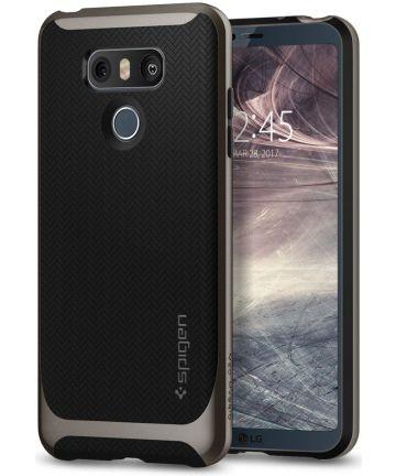 Spigen Neo Hybrid Hoesje LG G6 Gunmetal