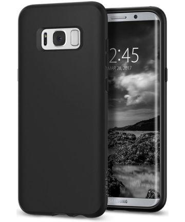 Spigen Liquid Crystal Case Samsung Galaxy S8 Plus Matte Black