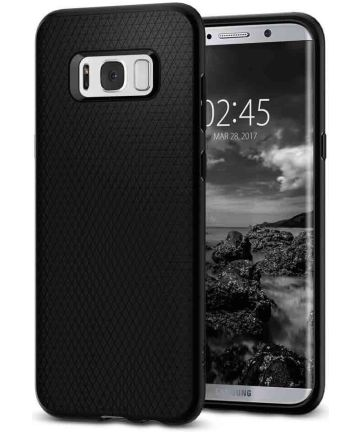 Spigen Liquid Air Case Samsung Galaxy S8 Plus Zwart Hoesjes