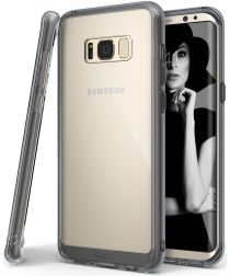 Ringke Fusion Samsung Galaxy S8 Hoesje Smoke Black