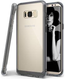 Ringke Fusion Samsung Galaxy S8 Plus Hoesje Smoke Black