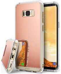 Ringke Mirror Samsung Galaxy S8 Plus Hoesje Rose Gold