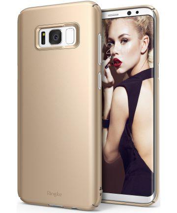Ringke Slim Samsung Galaxy S8 Hoesje Royal Gold Hoesjes