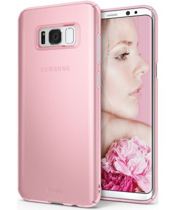 Ringke Slim Samsung Galaxy S8 Hoesje Roze