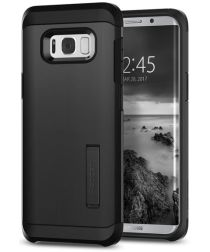Spigen Tough Armor Hoesje Samsung Galaxy S8 Plus Black
