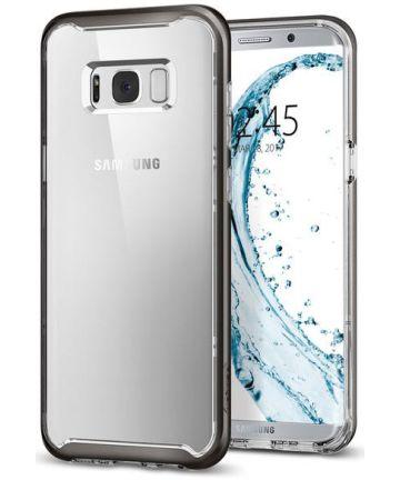 Spigen Neo Hybrid Crystal Case Samsung Galaxy S8 Plus Gunmetal Hoesjes