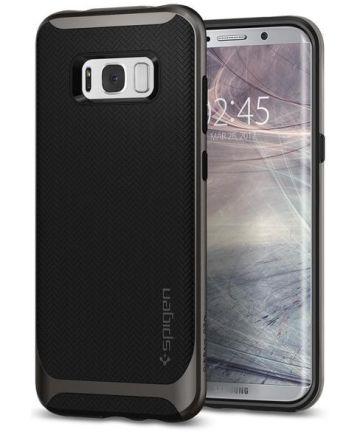Spigen Neo Hybrid Hoesje Samsung Galaxy S8 Plus Gunmetal
