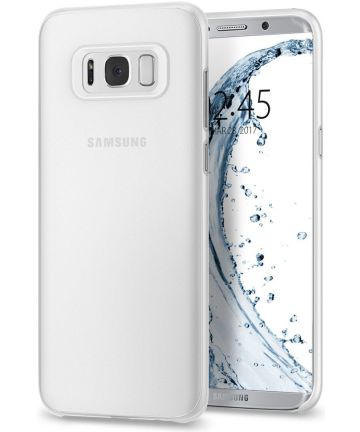 Spigen Air Skin Galaxy S8 Soft Clear Hoesjes