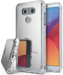 Ringke Fusion Mirror LG G6 Spiegel Hoesje Zilver