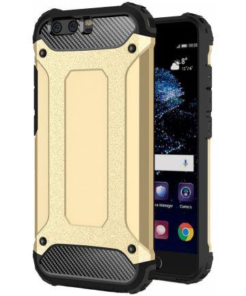 Huawei P10 Lite Hybride Hoesje Goud
