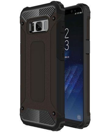 Samsung Galaxy S8 Plus Hybride Hoesje Zwart