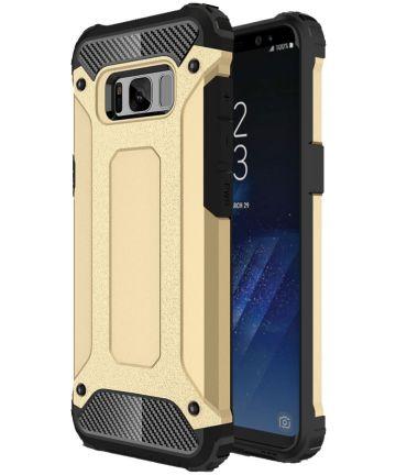Samsung Galaxy S8 Plus Hybride Hoesje Goud