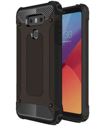 LG G6 Hybride Hoesje Zwart