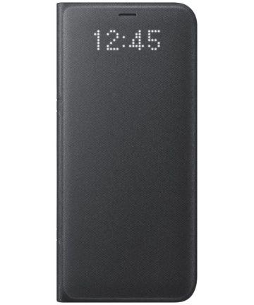 Samsung Galaxy S8 Led View Hoesje Zwart Origineel
