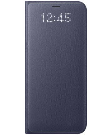 Samsung Galaxy S8 Led View Hoesje Paars Origineel