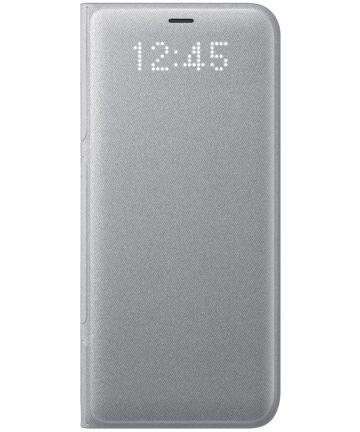 Samsung Galaxy S8 Led View Hoesje Zilver Origineel