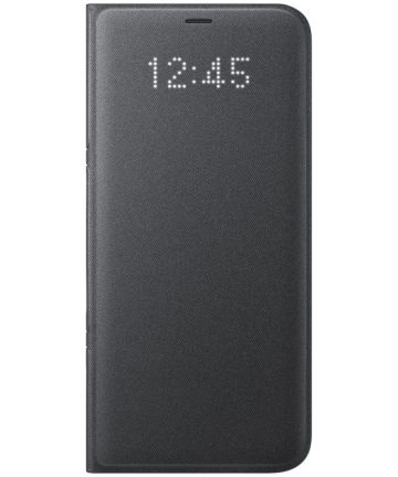 Samsung Galaxy S8 Plus Led View Hoesje Zwart Origineel