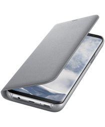 Origineel Samsung Galaxy S8 Plus Hoesje LED View Cover Zilver