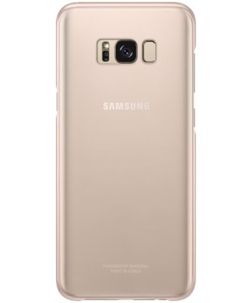 Samsung Galaxy S8 Plus Clear Cover Roze Origineel